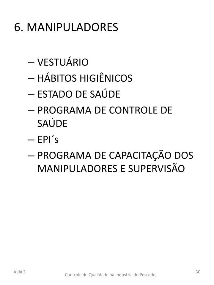 6. MANIPULADORES