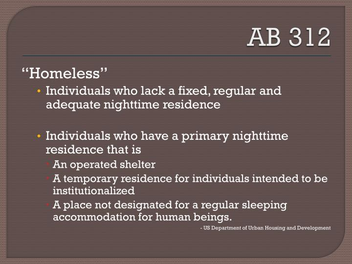 AB 312
