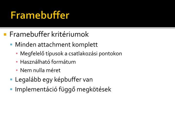 Framebuffer