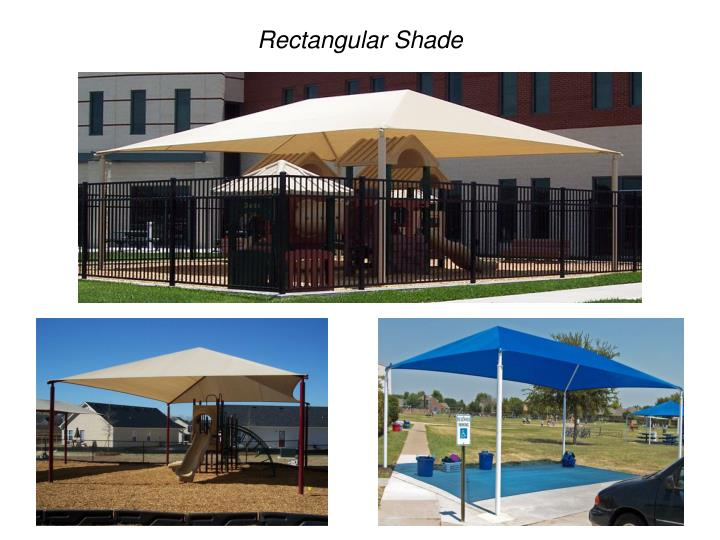 Rectangular Shade