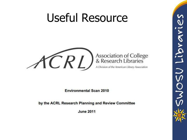 Useful Resource