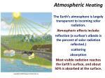 atmospheric heating3