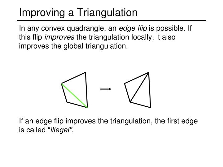 Improving a Triangulation