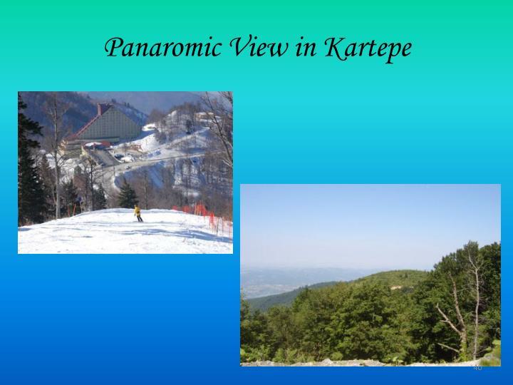 Panaromic View in Kartepe
