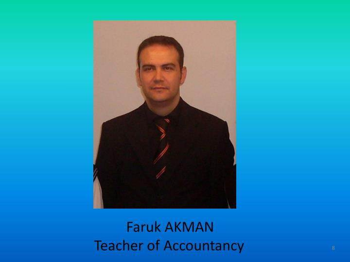 Faruk AKMAN