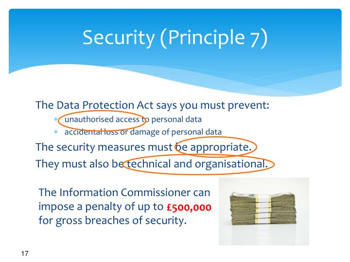 Security (Principle 7)
