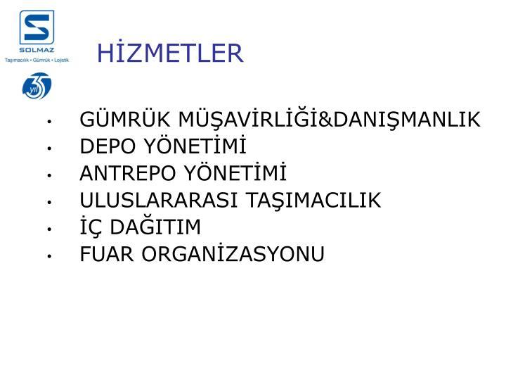HİZMETLER