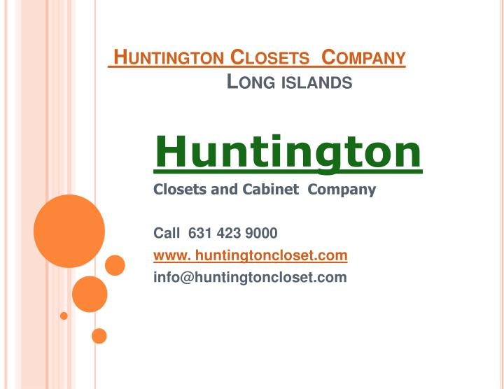 Huntington closets company long islands