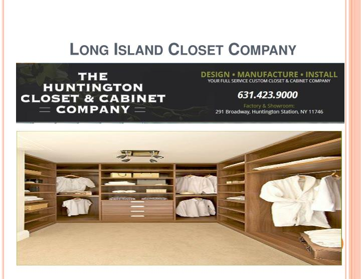 Long Island Closet Company