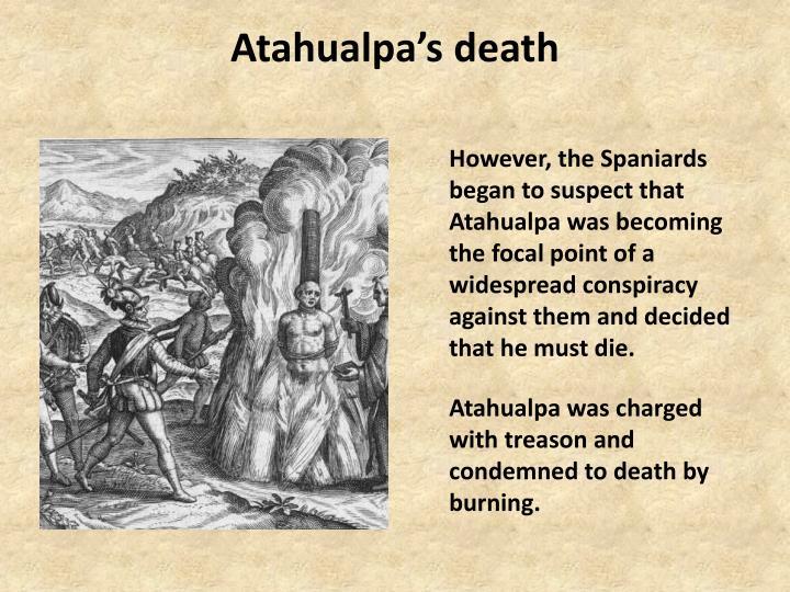 Atahualpa's death