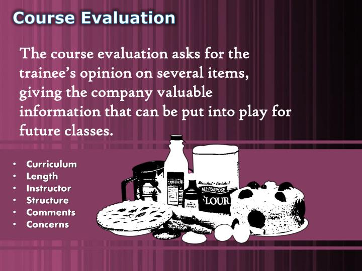 Course Evaluation