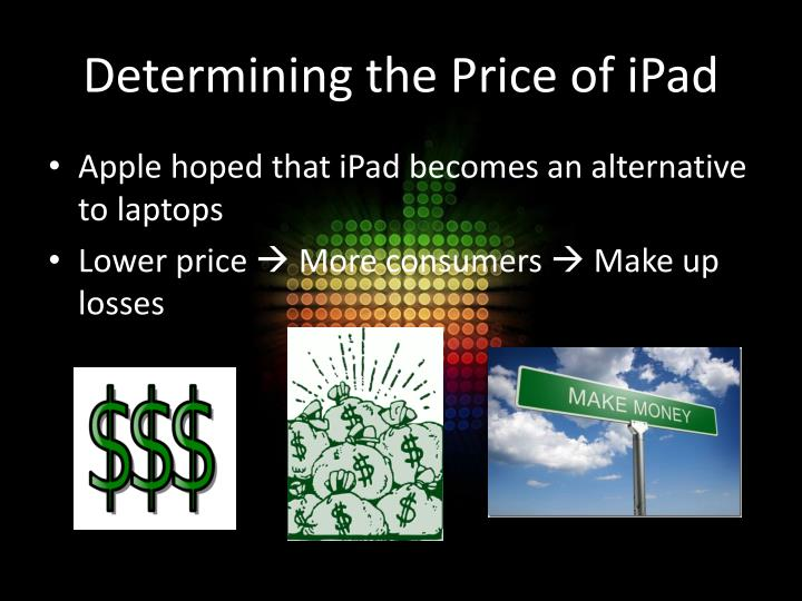 Determining the Price of