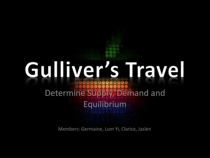 Gulliver s travel