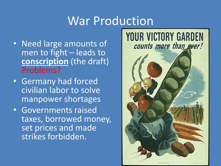 War Production