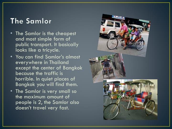 The Samlor