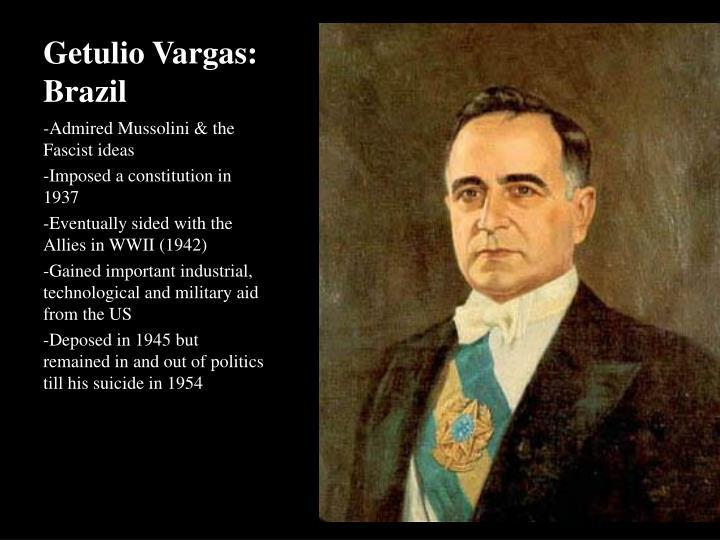 Getulio Vargas: Brazil