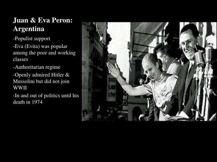 Juan & Eva Peron: Argentina