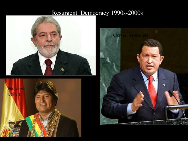 Resurgent  Democracy 1990s-2000s