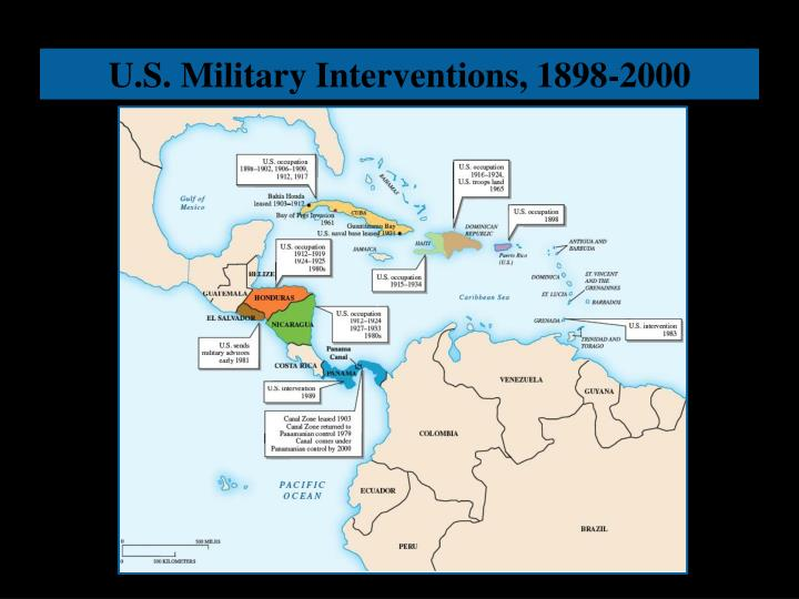 U.S. Military Interventions, 1898-2000