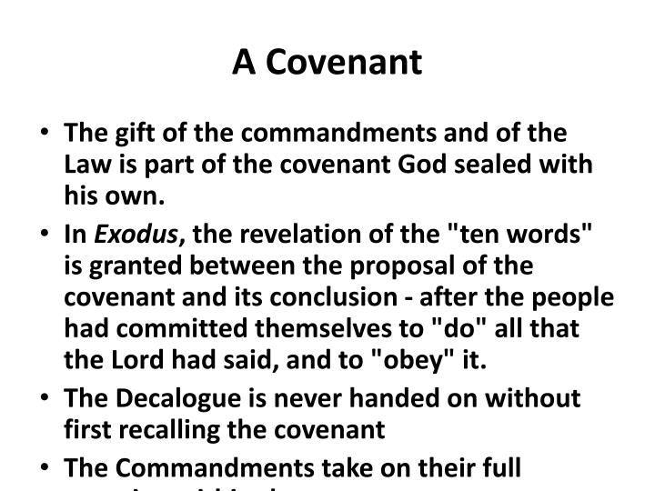 A Covenant