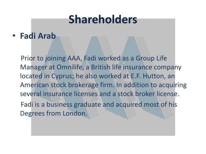 Shareholders