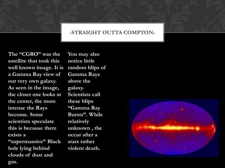 -Straight outta Compton-