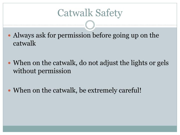 Catwalk Safety