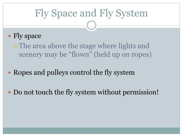 Fly Space and Fly System