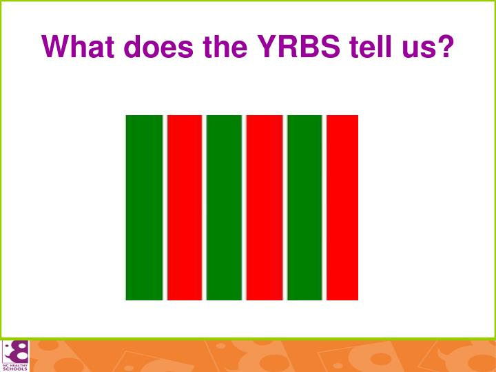 What does the YRBS tell us?