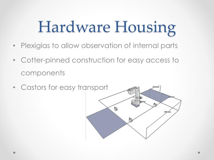 Hardware Housing