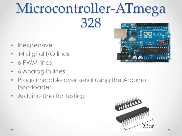 Microcontroller-ATmega 328