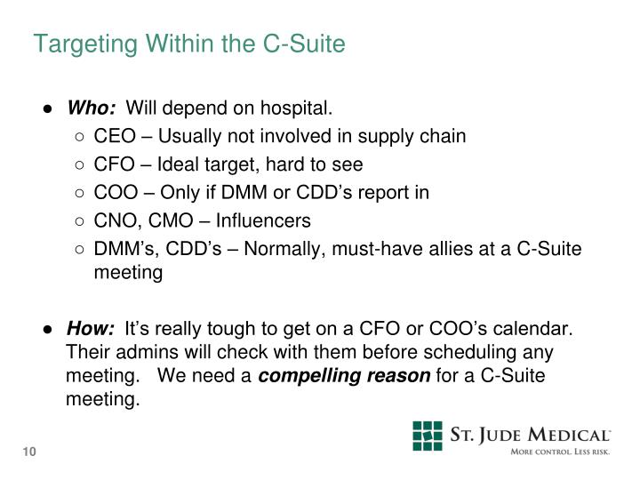 Targeting Within the C-Suite