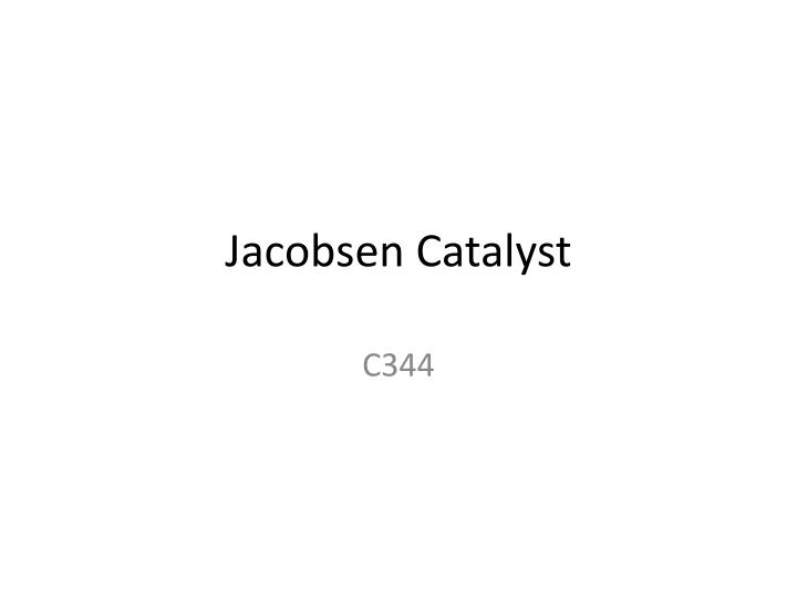 a report on the jacobsens catalyst View full weather report search what the community has to say about jacobsen's skin & body care tags catalyst advocare skincare spark 24 day challenge.