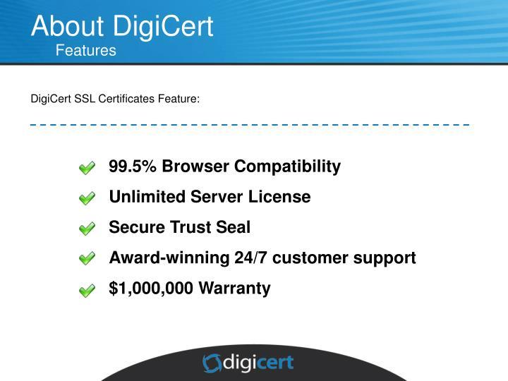 About DigiCert