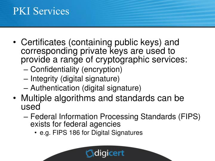 PKI Services