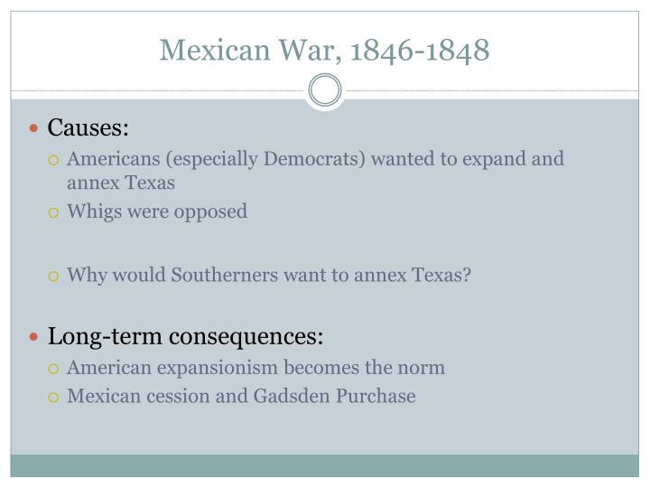 Mexican War, 1846-1848