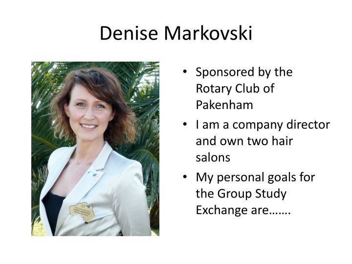 Denise Markovski