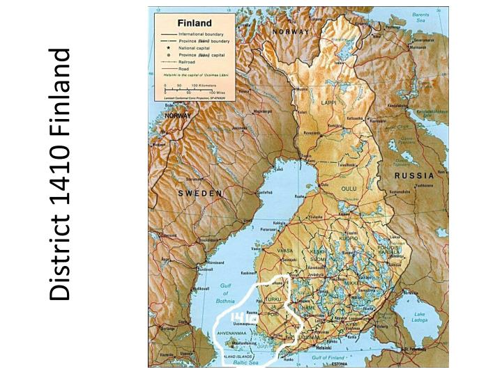 District 1410 finland