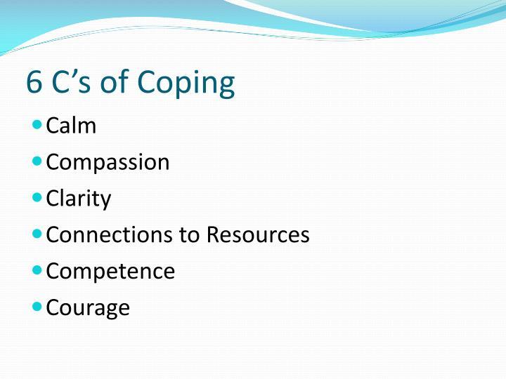 6 C's of Coping