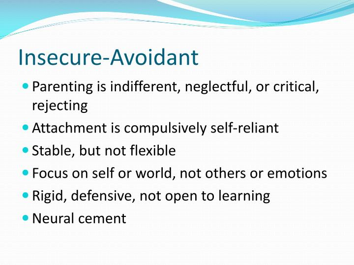 Insecure-Avoidant