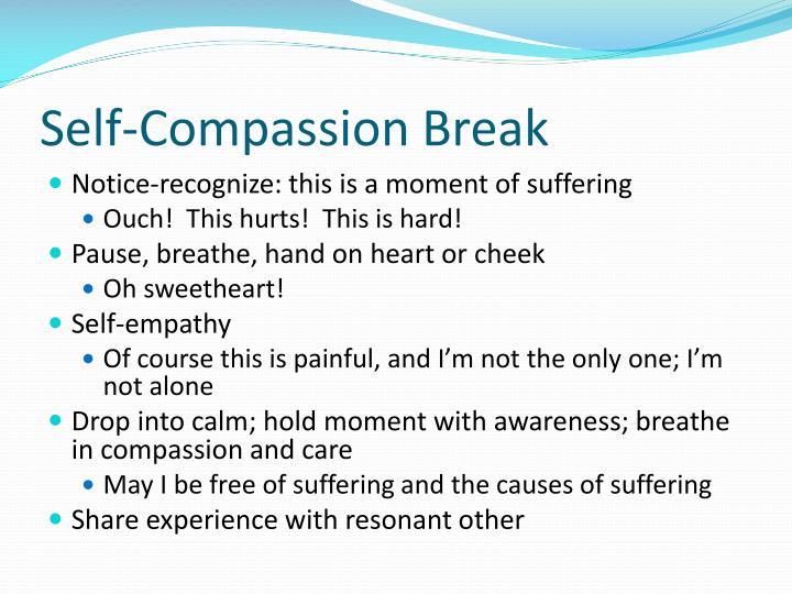 Self-Compassion Break