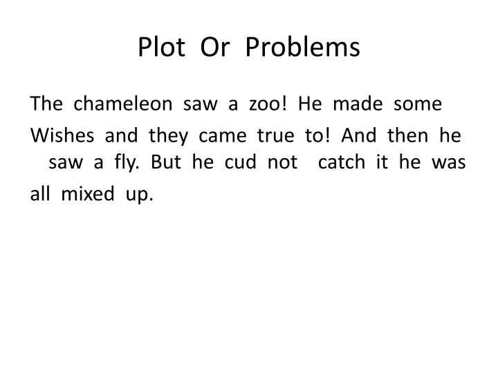 Plot  Or  Problems