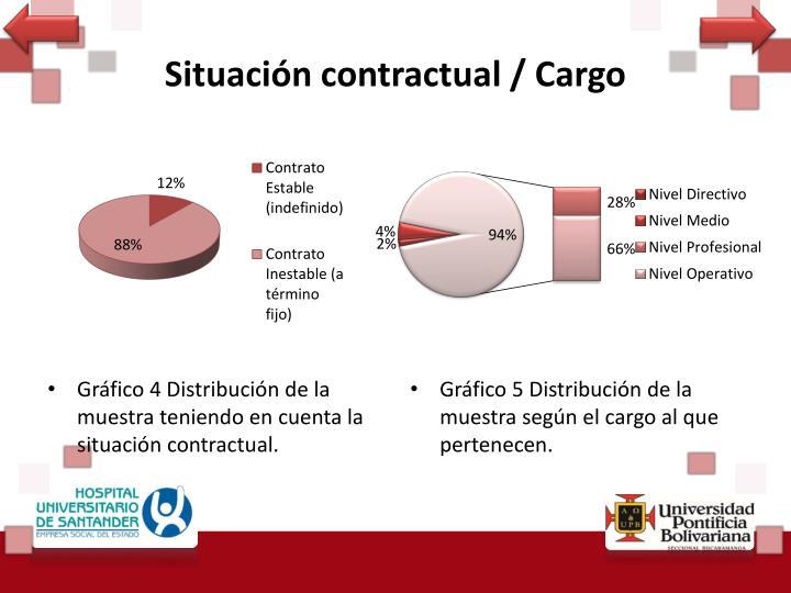 Situación contractual / Cargo