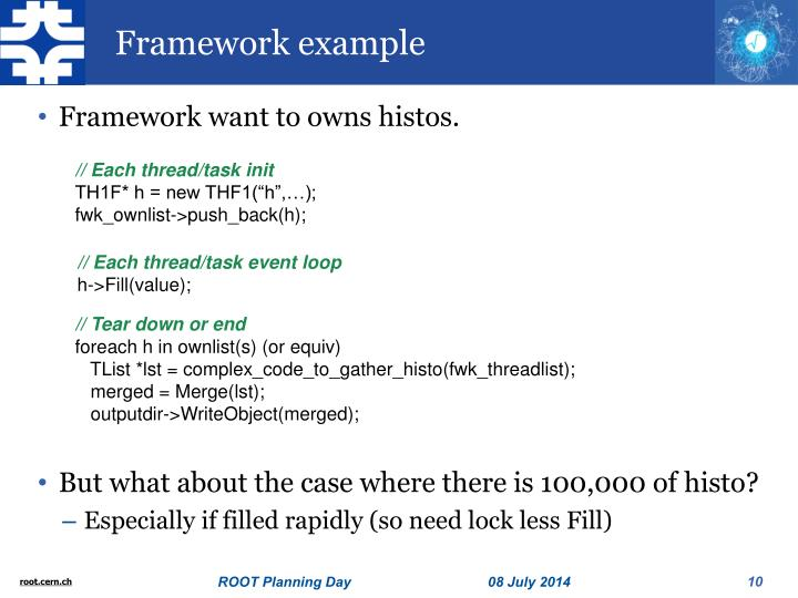Framework example