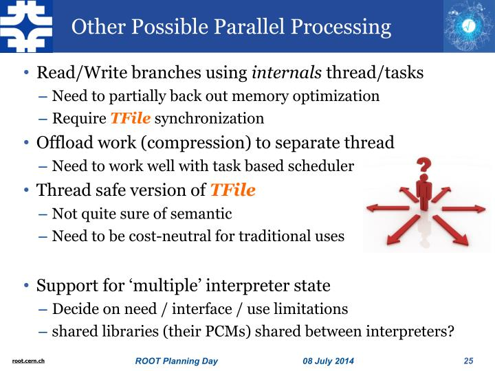 Other Possible Parallel Processing