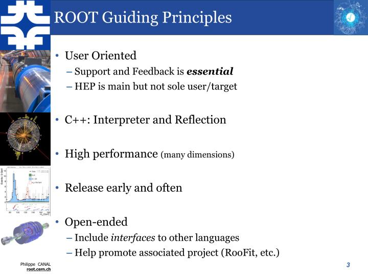 Root guiding principles