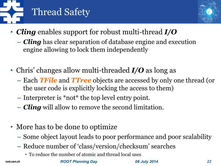 Thread Safety