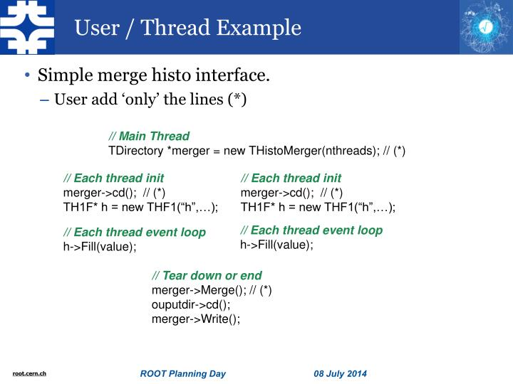 User / Thread Example