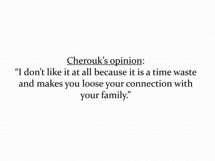 Cherouk's