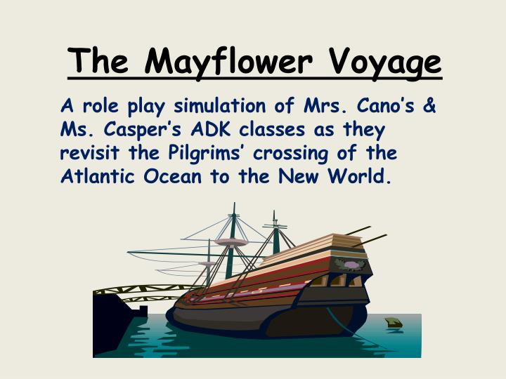 The Mayflower Voyage